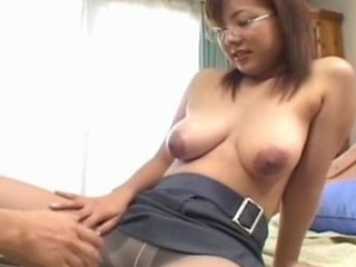 U definitely won't find a sexier office Japanese slut than this huge tit playgirl as this playgirl has everything that a..