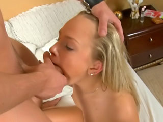 Cute sexually excited babe engulfing a big dick and getting rimmed hard