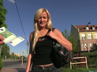 Wow wow wow..is what I thought when I saw tall, blond Andrea walking down the street.  I just had to fuck her.I pretended..