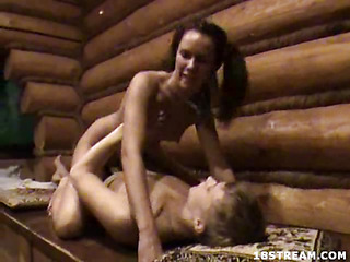 Ulianka`s been looking forward to the camping trip with her boyfriend 'coz this hottie knows it will be an all night fuck-fest. This Babe can`t await to receive him alone in the woods, so they can run around stripped and fuck like animals. And when this chab is fucking her wet crack hard, this hottie can scream as loud as that hottie wants 'cuz there`s no one around for miles to hear her!