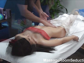 U would become aroused from the view of sexy and hardcore fucking after worthy private massage! Breathtaking nymph becomes undressed, receives massage from man and then feels his rigid obese dick in her wet cunt.