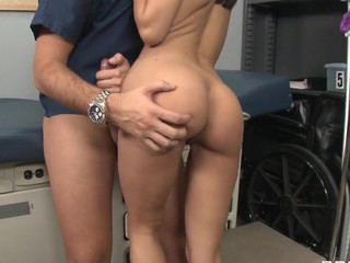 Keiran is a nurse at the local hospital trying to work his way up to the top. This Chab inadvertently bumps into a sexy..