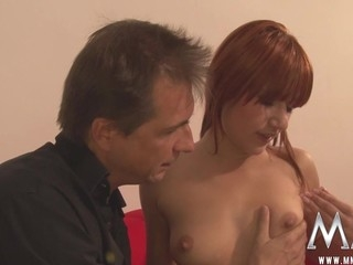 Naughty redhead begins her life of crime by stealing a lip gloss and ultimately paying for it by fucking the guy that..