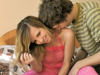 Legal age teenager enjoys to fuck big hard ramrods when this babe finds one
